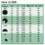 Tobera regulable para difusores 15-VAN