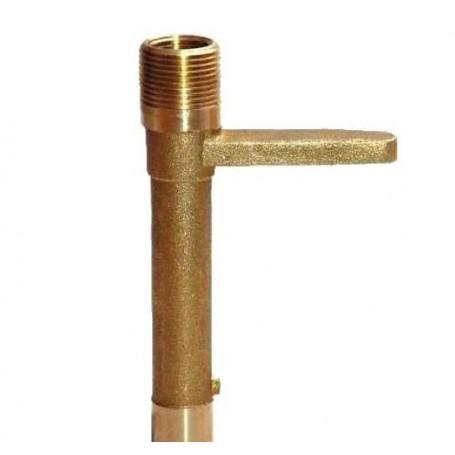 """Llave para boca de riego en bronce 3/4"""""""