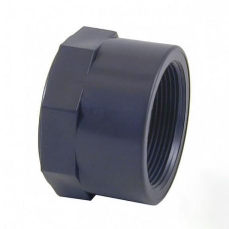 Tapón hembra PVC