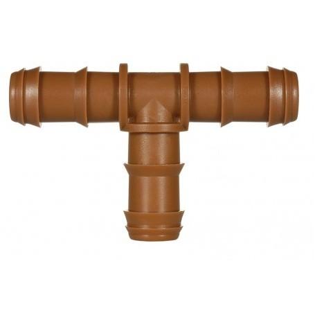 Te Goteo 16mm marrón. Bolsa de 10 Unidades