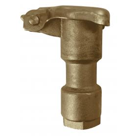 """Boca de riego hidrante de acople rápido en bronce 1/2"""""""