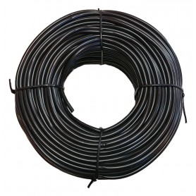 Microtubo PVC flexible 4,5 x 6,5 negro
