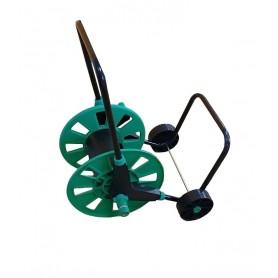 Carrito portamangueras con rueda
