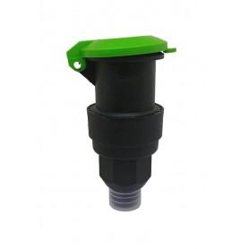 """Boca de riego hidrante plástico 1"""""""