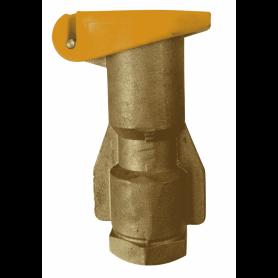 """Boca de riego hidrante de acople rápido en bronce 1"""""""