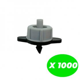 Gotero autocompensante 2 l/h Pack de 1000 Unidades