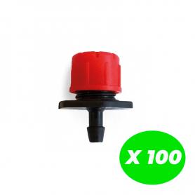 Gotero regulable Variflow Pack de 100 Unidades