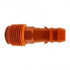 Enlace Estriado 16mm a Rosca Macho Dawn