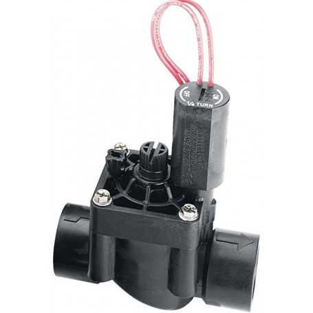 """Electroválvula Hunter PGV-101G-B 1"""" 24v con Regulador de Caudal"""