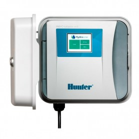Programador de riego Hunter PRO-C Hydrawise exterior
