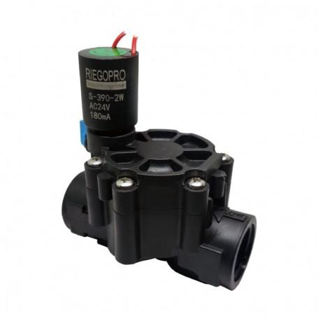 """Electroválvula Riegopro 1"""" RP-100 24V A.C. con apertura Manual y Automática"""