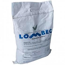 Humus de lombriz vermicompost 4Kg, 6 lts. Abono ecológico Apto para Cualquier Cultivo