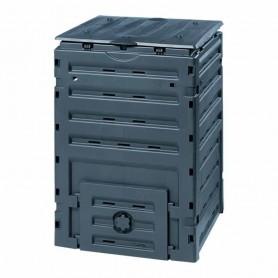 Compostadora ECO-MASTER. Color Negro fabricado en Polipropileno