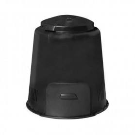 Compostadora ECO Composer Negra 280L 79x79x84cm 7,5KG