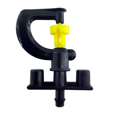 Microaspersor de riego 360º Rotatorio