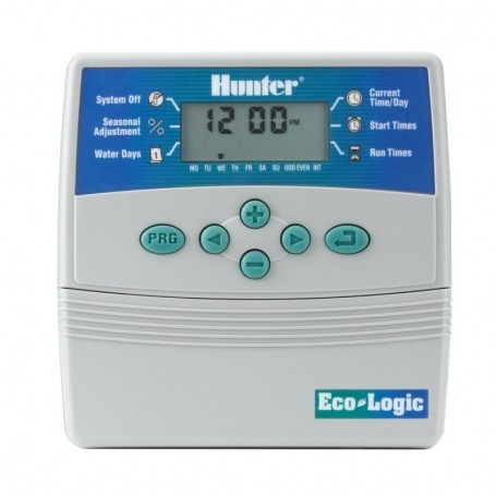Programador de riego Hunter Eco Logic Interior