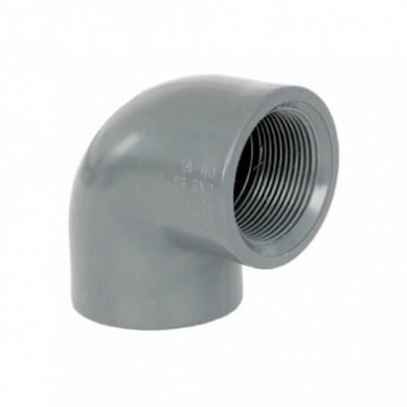 Codo Rosca Hembra 90º PVC