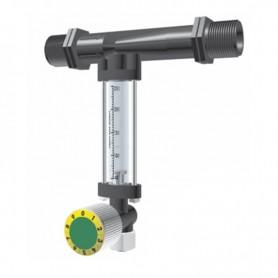 Inyector Venturi 32Ø 7mm con llave dosificadora