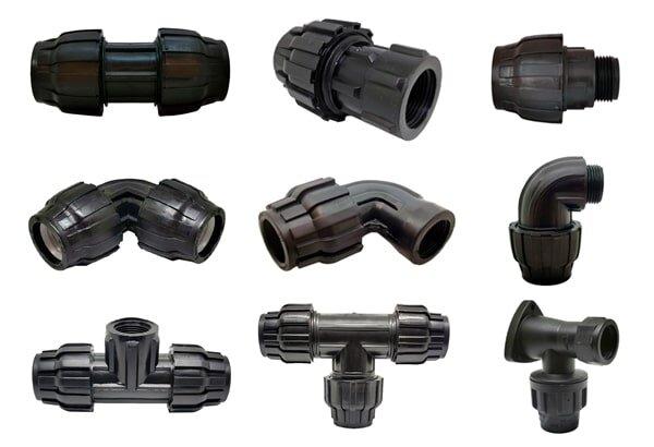 accesorios para riego de polietileno ejemplo
