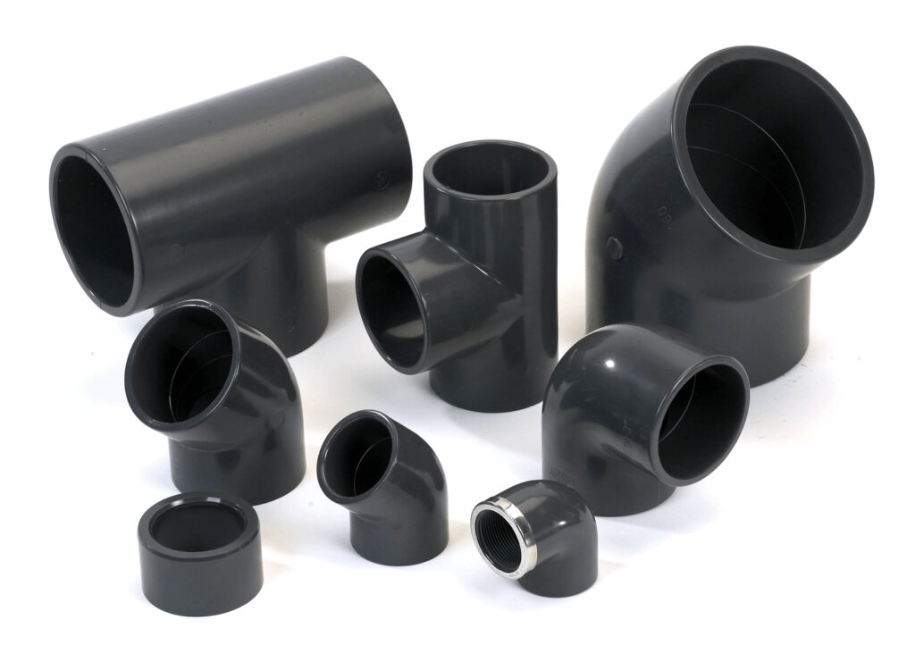 imagen con accesorios de pvc para riego